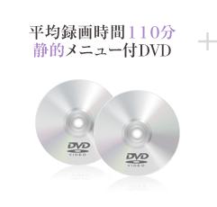平均録画時間110分、静的メニュー付DVD